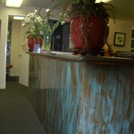 Doctors Offce Reception Desk