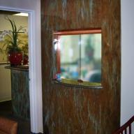 reception window doctors office