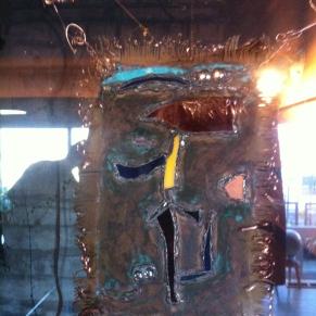 copper and glass artpanel