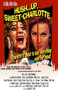movie poster for Hush Up Sweet Charlotte